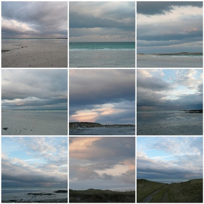 Tiree skies